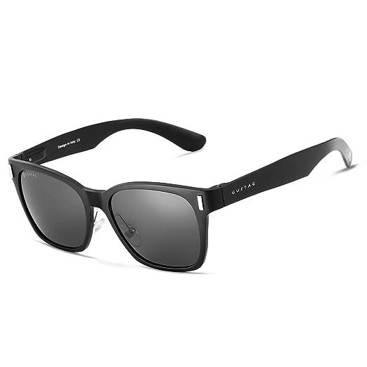 66c052c111 GUZTAG Square Unisex Classic Men Aluminum Sunglasses HD Polarized UV400  Mirror Male Sun Glasses Women For