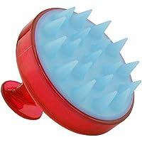 FIGHTINGV5 Korean Soft Silica Gel Comb Plastic Handle Head Brushes Scalp Cleaning Massage Tools Color Random