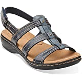Clarks Of England Women's Leisa Daisy Leather Sandals