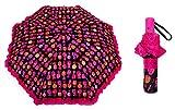 Betsey Johnson Designer Travel Umbrella (Happy Pineapples)