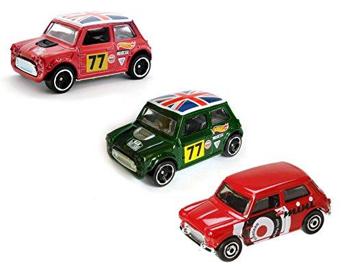 Morris Mini Cooper Hot Wheels Matchbox 3 Pack Set Mb19 Hw