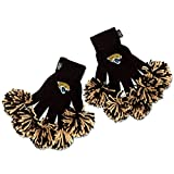 NFL Jacksonville Jaguars Embroidered Spirit Fingerz Pom Pom Gloves