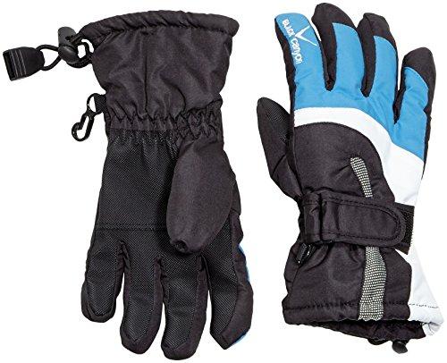 Black Canyon Kinder Handschuhe, Schwarz/Blau, 8, BC8015