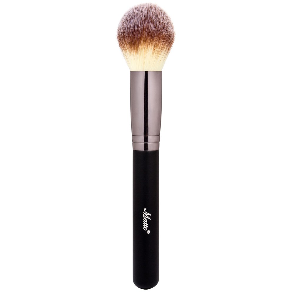 Matto Powder Mineral Brush - Makeup Brush for Large Coverage Mineral Powder Foundation Blending Buffing 1 Piece MW