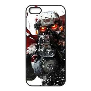 Killzone 3 3 funda iPhone 4 4s funda caja del teléfono celular cubren negro, el funda iPhone 4 4s casos Funda negro
