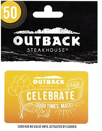 Outback Celebrate Gift Card  rating50