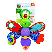 The World of Eric Carle, The Very Hungry Caterpillar On the Go Developmental Plush Firefly with Light, 11