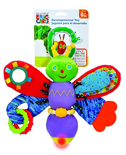 World of Eric Carle, The Very Hungry Caterpillar Activity Toy, Firefly with Light ()