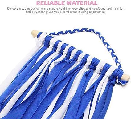 MOGOI Hair Bow Holder Organizer Long Hair Clips Hanger Storage Organizer for Wall Girls
