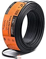 Wirefy Low Voltage Landscape Lighting Wire - Outdoor Direct Burial - 2-Conductor - 250 Feet