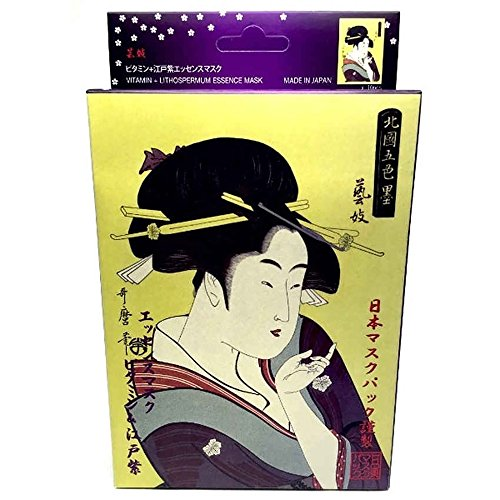 MITOMO Face Sheet Mask High Quality. Made in Japan. Pack of 10 (25g x 10) (VITAMIN & - Japanese Acetate