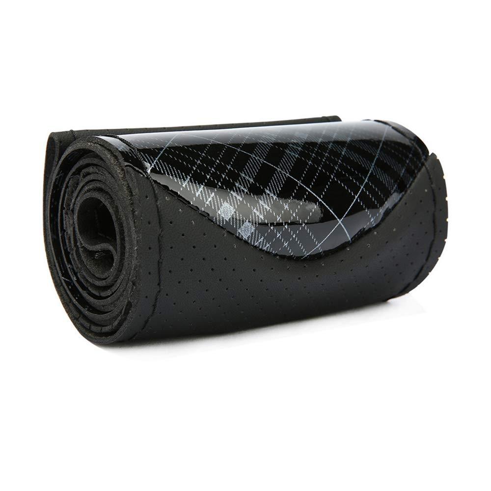 Sportiva Ed Elegante XIYIO Cristallo Otto-Bag Cucita A Mano Copri Volante Dinamico Resistente allUsura Antiscivolo Materiale Impermeabile Facile da Pulire,Grigio