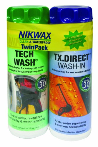 Nikwax Hardshell Twin Pack, Outdoor Stuffs