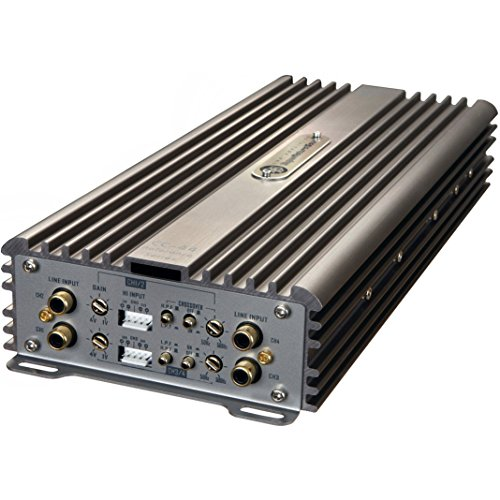 (DLS CC-44 Reference 4-Channel AB Class 480 Watt Compact Car Amplifier 480W Amp)