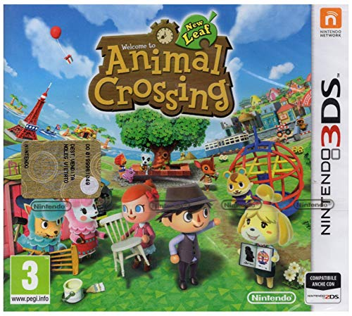 NINTENDO GIOCO ANIMAL CROSSING NEW LEAF 3DS (Best Animal Crossing Game For Ds)