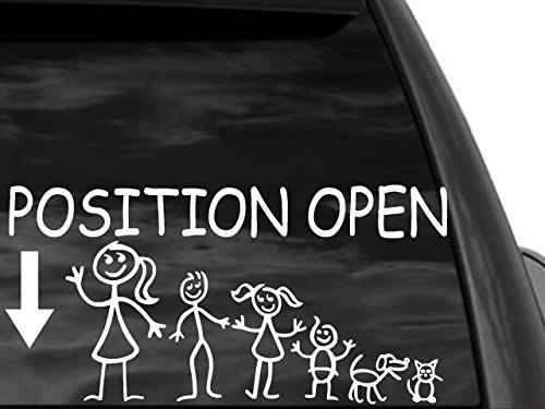 position open car decal - 6