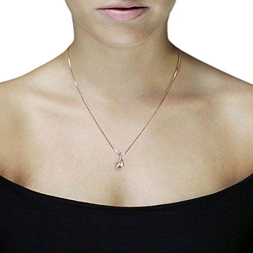 Goldmaid - Collier - Or rose  - Diamant 0.03 carats - 45 cm - Pe C6783RG