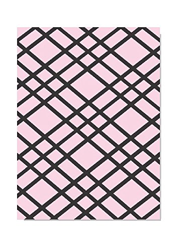 """Bulletin-Memo Board and Picture Frame: Pink and Black (Large (20"""" x 30""""))"""
