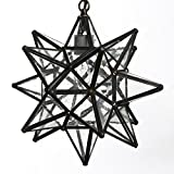 12 Inch Clear Glass Star Lights