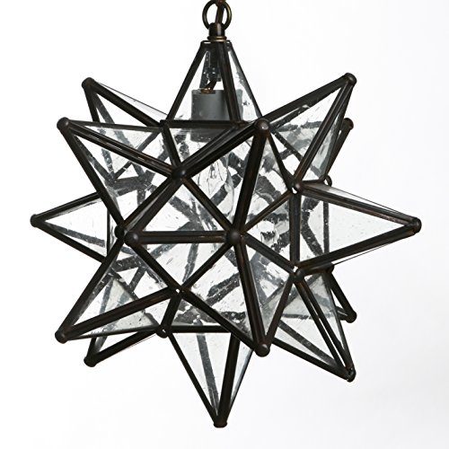 Star Shaped Light Pendant in US - 2