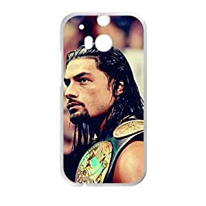 HUAH Roman Reigns White Phone Case for HTC One M8