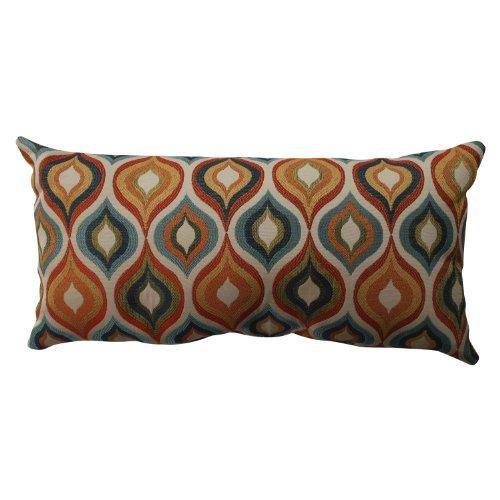 Pillow Perfect Flicker Jewel Bolster Throw Pillow