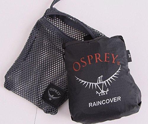 Osprey UL Raincover-Titanium-XS