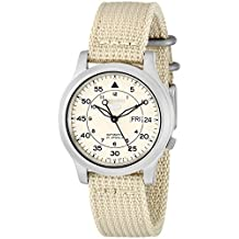 Seiko Men's SNK803 Beige Dial Watch