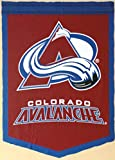 Colorado Avalanche FATHEAD Team Logo Banner Official NHL Vinyl Wall Graphic 17''x12'' INCH