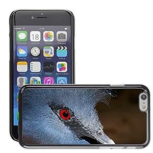 "Etui Housse Coque de Protection Cover Rigide pour // M00108015 Azul Fan Sordos Aves Cabeza Retrato // Apple iPhone 6 4.7"""