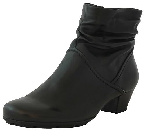 Gabor Fashion 35.637.87 Damen Stiefel Stiefelette (Ankle Boots) mit Reißverschluss  Leder c30f20f46f