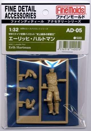 1/32 AD5 世界のエースパイロットシリーズ エーリッヒ・ハルトマン