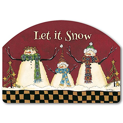 YardDeSign Primitive Snowman Yard DeSign Yard Sign 71398
