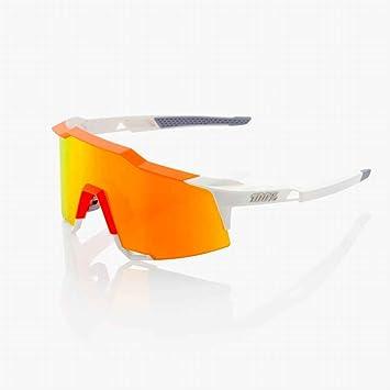 Inconnu 100% speedcraft Sonnenbrille Unisex Erwachsene, Orange