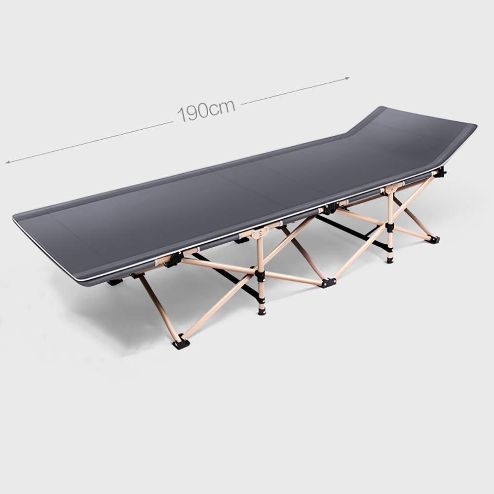 GJC Klappbett 4-Fach Verstärkung Einzel-Nickerchenbett Büro-Lunchbett-Couch Einfache Begleitbett,B