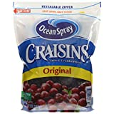Ocean Spray Craisins Dried Cranberries Original, 1.36-Kilogram