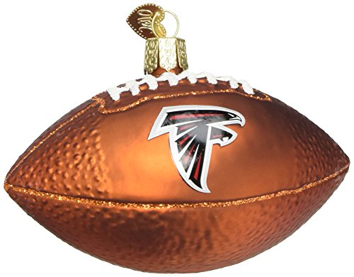 Old World Christmas Glass Ornament Atlanta Falcons Football