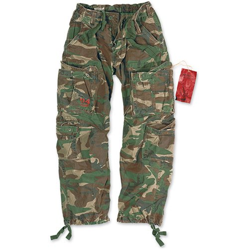 Surplus Airborne Men's Cargo Trousers