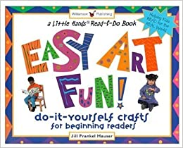 Amazon easy art fun do it yourself crafts for beginning flip to back flip to front solutioingenieria Image collections
