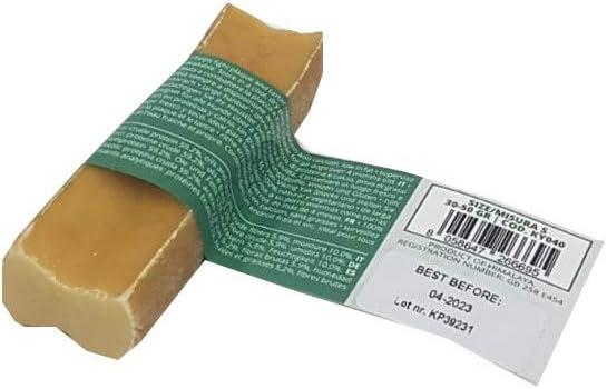 Trama Toscana Snack per Cani Yak al Latte Gr da 30 a 50 Lunghezza da cm 7 a 9 Cibo Naturale e Totalmente Masticabile Ottimo per lIgiene Dentale Senza Conservanti e Senza Glutine