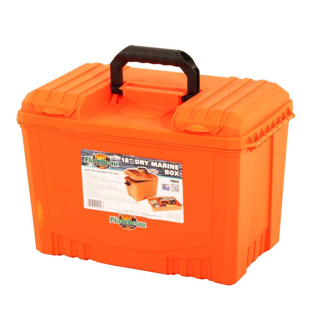 Flambeau Outdoors 1809 18 Dry Box – Orange
