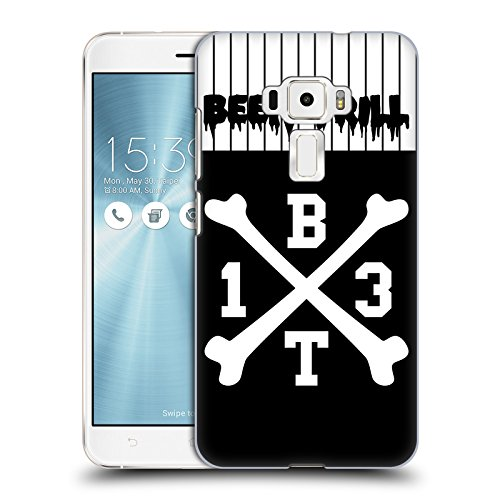 Jersey Hc Crossbones (Official Been Trill Crossbone Jersey Hard Back Case for Zenfone 3 ZE552KL)