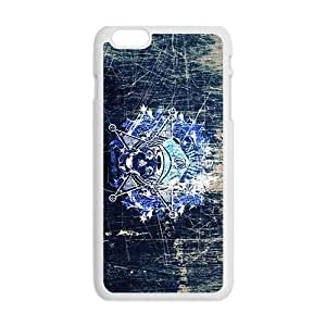 Creative Skull Custom Protective Hard Phone Cae For Iphone 6 Plus