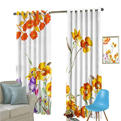 YSING Drapes Girls,Decorative Pattern,Rod Pocket Drapes Thermal Insulated Panels Home décor,W84 x L84 Inch (Barclay Finishing Rods)