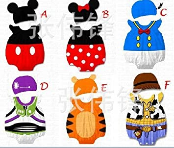 Baby Boys Girls Outfit 9 32 Months Cute Disney Cartoon Character
