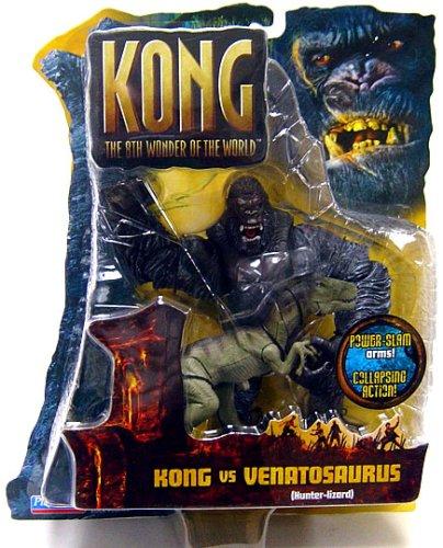 - King Kong The 8th Wonder of the World Action Figure Kong Vs. Venatosaurus