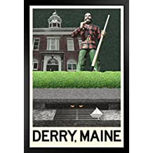 ProFrames Derry Maine Fantasy Travel Framed Poster Poster 12x18