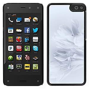 Amazon Fire Phone Único Patrón Plástico Duro Fundas Cover Cubre Hard Case Cover - Petals Snowdrop Petal Shadow Subtle