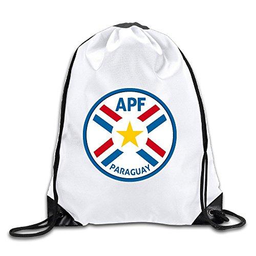 GIGIFashion Paraguay National Football Team Logo Drawstring Backpacks/Bags
