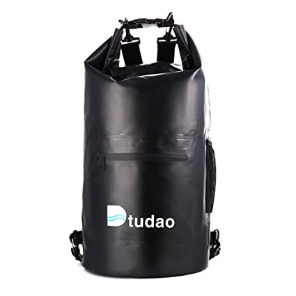 b3de9cb3feb1 20L Lightweight Waterproof Dry Bag Roll Top Sack Floating Dry Gear Bag  Backpack for Kayaking